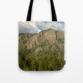 Rocks and Shrubs Tote Bag