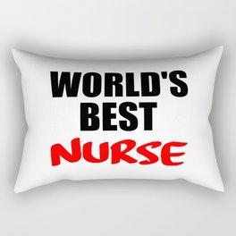 worlds best nurse Rectangular Pillow