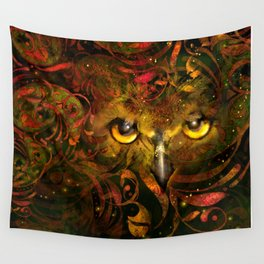 Owl See You Wall Tapestry