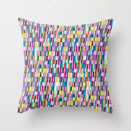 color chips Throw Pillow