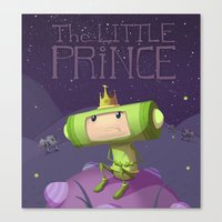 katamari Canvas Prints featuring Katamari Damacy by Dave Armstrong