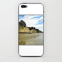 Seashore cliffs iPhone Skin