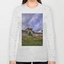 Chepstow Castle Walls Long Sleeve T-shirt