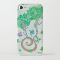 surrealism iPhone & iPod Cases featuring Tree Surrealism by Design SNS - Sinais Velasco