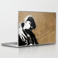 biggie smalls Laptop & iPad Skins featuring The Notorious B.I.G. - Biggie Smalls by Chad Trutt