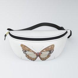 Orange Butterfly Fanny Pack