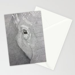 A mazing elephant II Stationery Cards