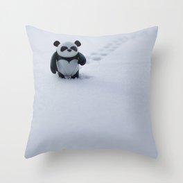 Zeke the Zen Panda Throw Pillow