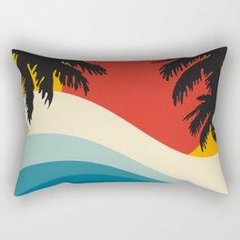 Abstract landscape art V Rectangular Pillow