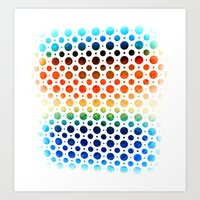 planets Art Prints featuring planets by sustici