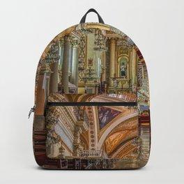 Guanajuato Basilica Inside Backpack