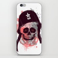 soldier iPhone & iPod Skins featuring Soldier  by Jelot Wisang