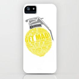 Portal 2 combustible lemon quote iPhone Case