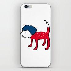 Dog-girl iPhone & iPod Skin