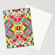 Playful Geometry 8 Stationery Cards