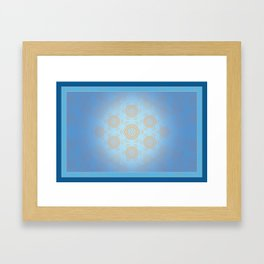 At Home in the Hive Framed Art Print