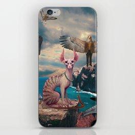 Birds with Cat iPhone Skin