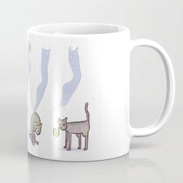 Cats smoking pipes Coffee Mug