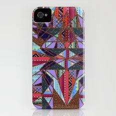 RETRO KALEIDOSCOPE //TWO iPhone (4, 4s) Slim Case