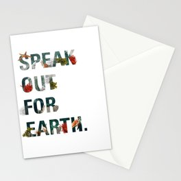 Speak Out for Earth! (Oceans) Stationery Cards