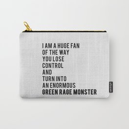 Green Rage Monster v2 Carry-All Pouch