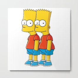 pants pocket simpson Metal Print