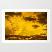 Cloudscape VI Art Print