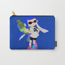 Inkling Girl (Blue) - Splatoon Carry-All Pouch