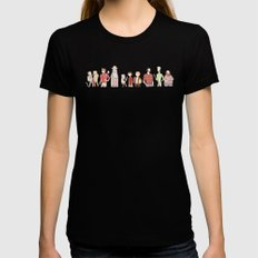 The Broship of the Ring Black X-LARGE Womens Fitted Tee