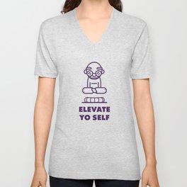 Elevate Yo Self Unisex V-Neck