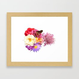 Gurlsilhouette Framed Art Print