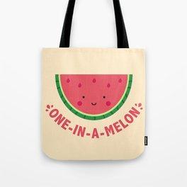 One in a Melon (Watermelon) Tote Bag