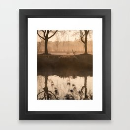 The Early Bird Captures The Shot Framed Art Print