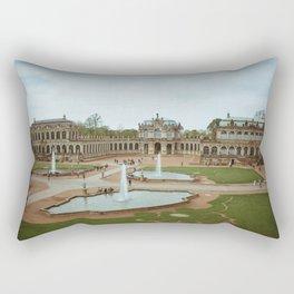 Zwinger Dresden Rectangular Pillow
