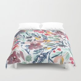 Upside Floral Deep Duvet Cover