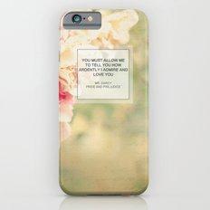 Mr. Darcy Proposal ~ Jane Austen iPhone 6s Slim Case