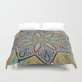Stained Glass Window - Mandala Art Duvet Cover