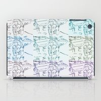 marty mcfly iPad Cases featuring Marty by Kats Illustration