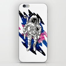 Out of place in Outerspace iPhone Skin