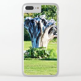 Stumpy and the Raspberries Clear iPhone Case