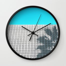 Parker Palm Springs with Palm Tree Shadow Wall Clock