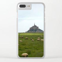 Le Mont Saint Michel 2 Clear iPhone Case