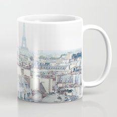 Eiffel Tower and Parisian roofs Mug