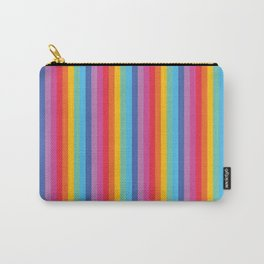 Unicorn Stripe Carry-All Pouch