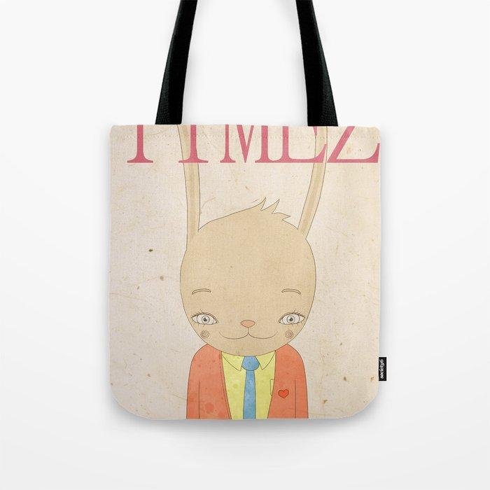 TIMEZ MAGAZINE HUG Tote Bag