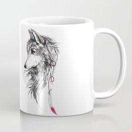 Feather Wolf Coffee Mug