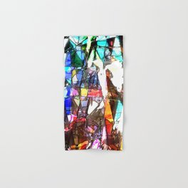 Light Streaming Through Stained Glass Hand & Bath Towel