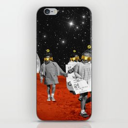Galactic Walkers iPhone Skin