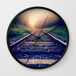 Create Your Own Path Wall Clock