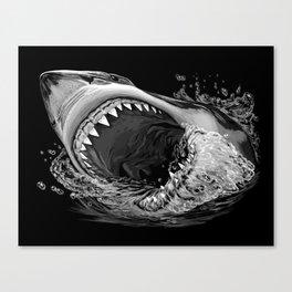 Shark Painting 2 Canvas Print